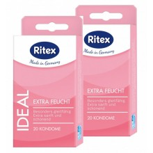 40 ( 2 x 20er ) Ritex ideal Kondome