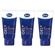 Ritex Gel PLUS - Gleitgel mit Aloe Vera 150ml ( 3 x 50ml )