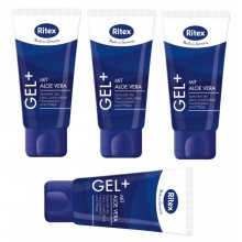 Ritex Gel PLUS - Gleitgel mit Aloe Vera 200ml ( 4 x 50ml )