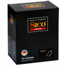 100 Sico Safety Kondome - Gefühlsintensität - Made in Germany