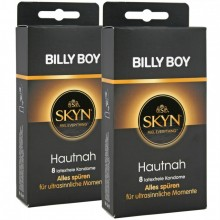 16 ( 2 x 8er ) Billy Boy SKYN Hautnah Original Kondome