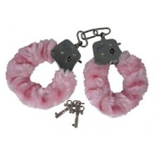 Playhouse Furry Love Cuffs Pink