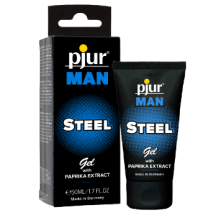 pjur Man Steel Gel mit Paprika Extrakt 50 ml
